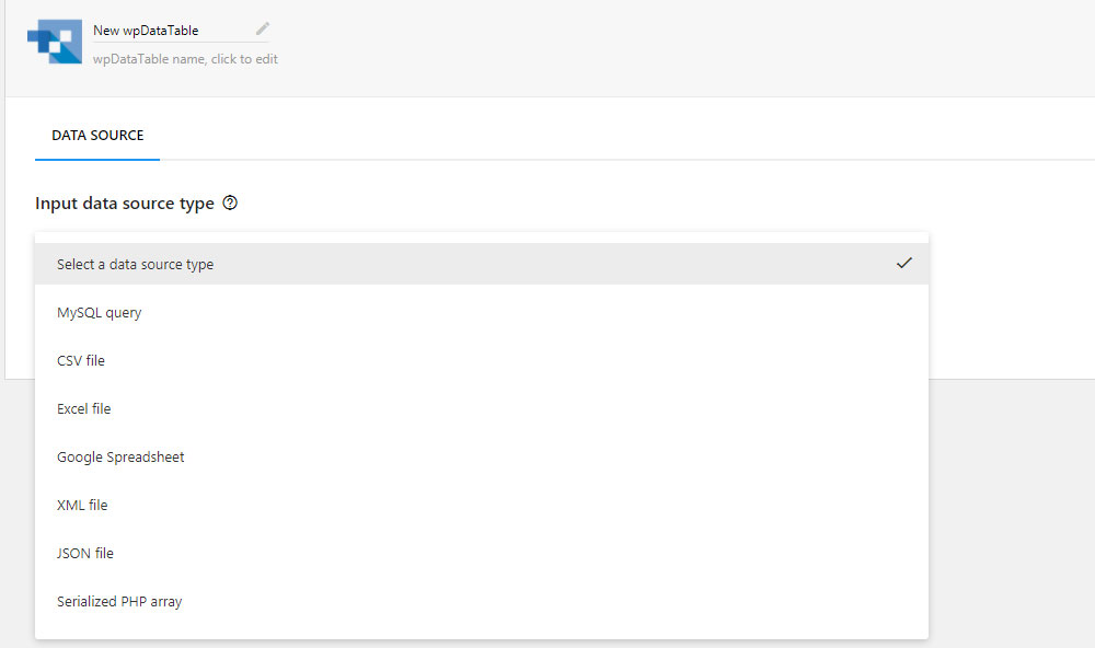 wordpress网站制作什么表格插件比较好用wpDataTables插件介绍-WordPress安装教程