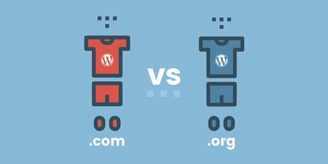 WordPress.com 和 WordPress.org – 有什么不同?-WordPress安装教程