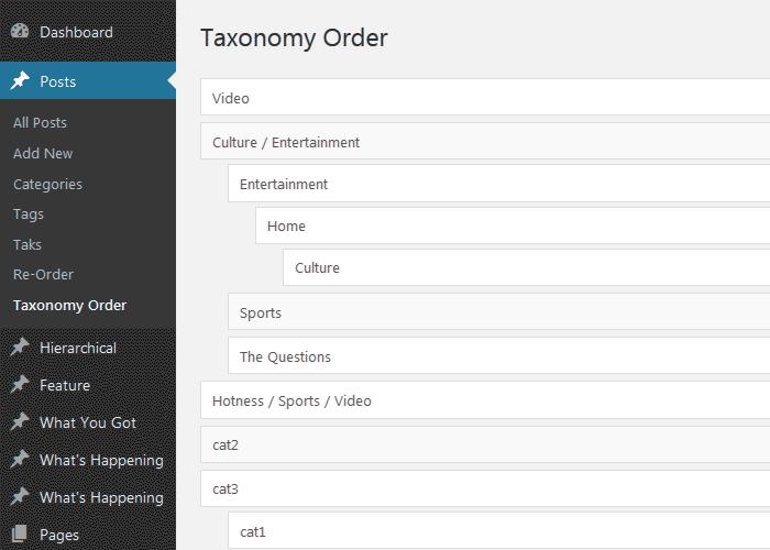 woo产品分类排序,wordpress产品分类排序方法-WordPress安装教程