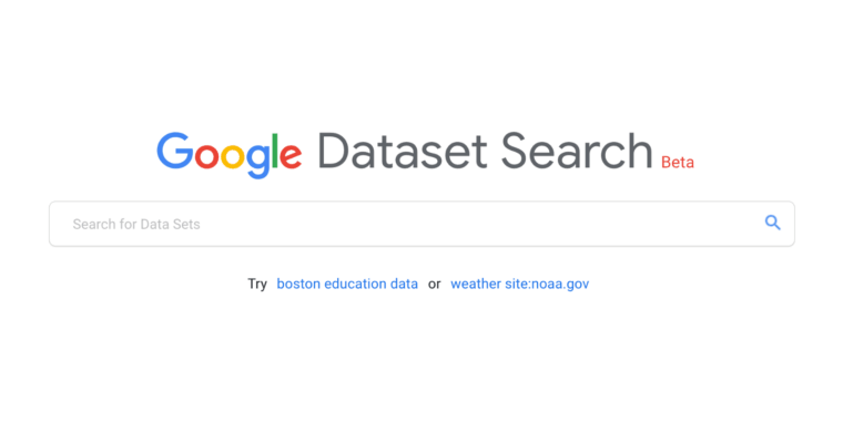 谷歌推出新搜索引擎以查找数据集