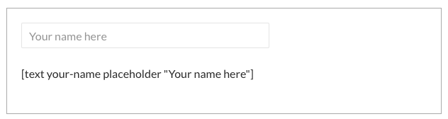 Contact Form 7 如何设置占位符 Placeholder-WordPress安装教程