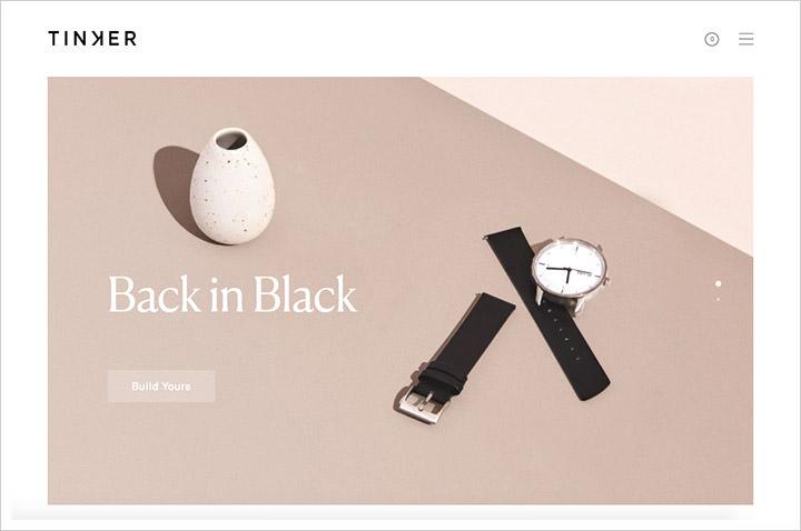 10个简洁明了的简洁网站设计
