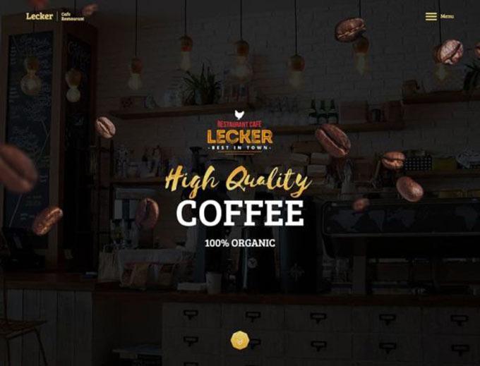厦门网站建设推荐几个咖啡主题的网站案例-WordPress安装教程