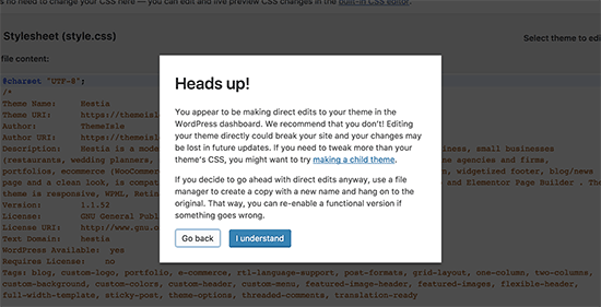 如何从WordPress管理面板中禁用主题和插件编辑器-WordPress安装教程