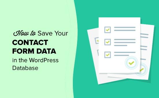 如何在WordPress数据库中保存联系表数据-WordPress安装教程